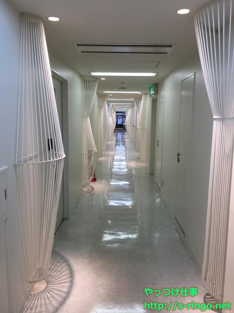 まだ続く長い廊下