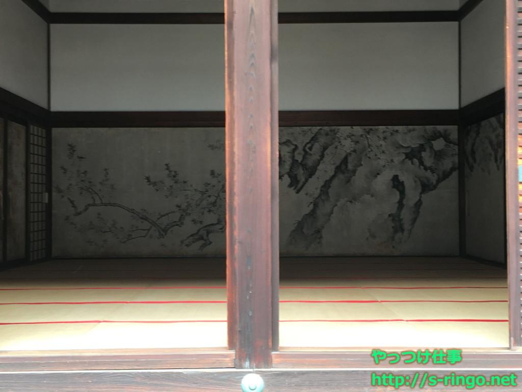 桜の間 桜図(筆者・原 在照)