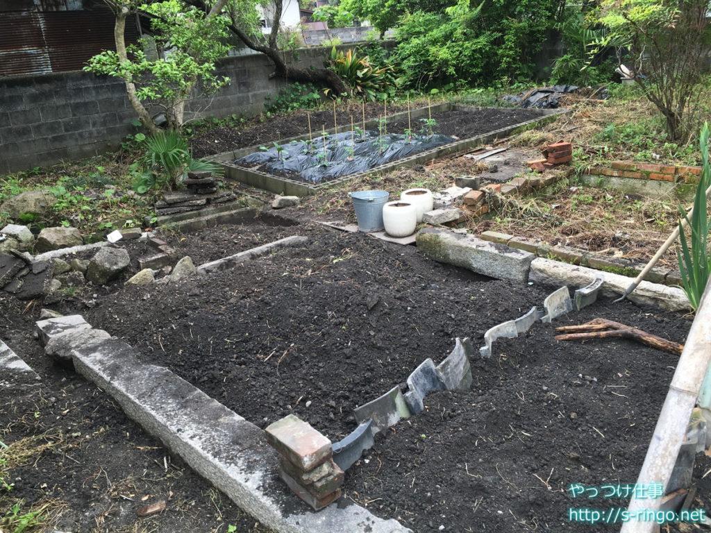 家庭菜園・拡張完成図